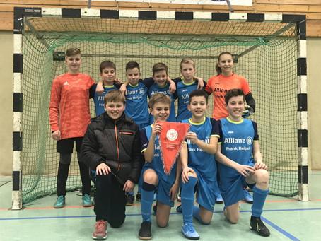 JSG Schrecksbach/Röllshausen ist Hallenkreismeister und qualifiziert sich für den Regionalentscheid