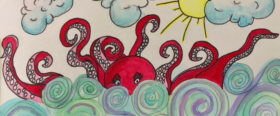 Whimsical Octopus