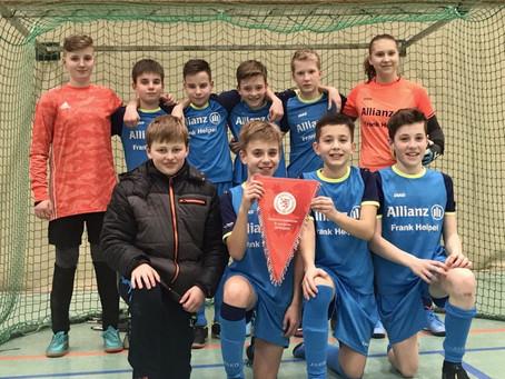 D1-Jugend JSG Schrecksbach/ Röllshausen neuer Futsal-Hallen-Kreismeister 2020
