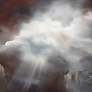 Where Sophia Lies oil on canvas 70 x 90