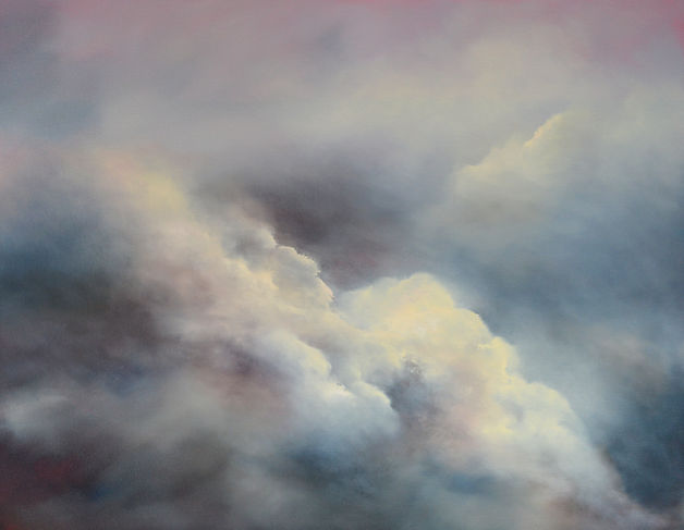 Whispering Above Oil on Canvas 70 x 90 c