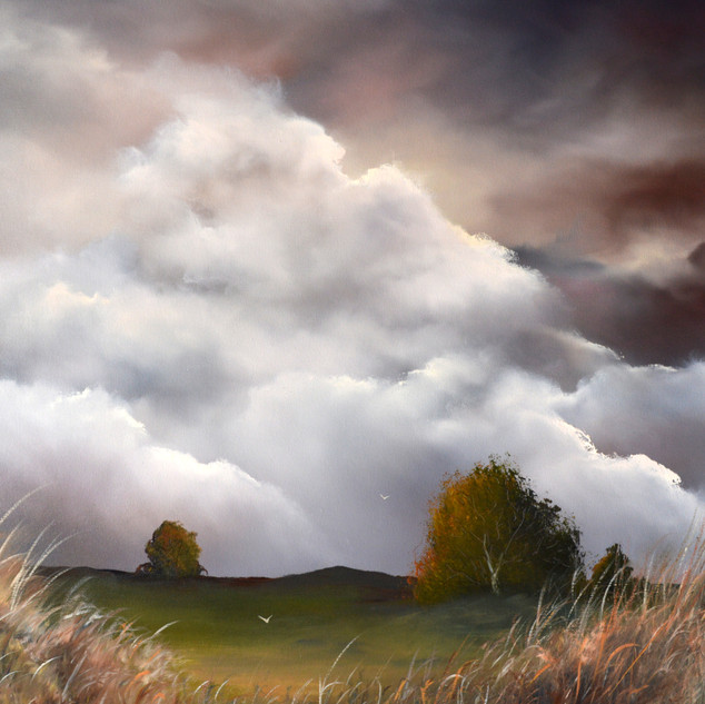 As the Seasons Gently Turn oil on canvas