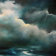 Sea Mist Rolling In oil on canvas 70 x 9