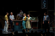 McNulty as VELMA in West Side Story for Cardinal Stage Company