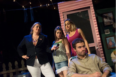 McNulty as LIN in The Great American Trailer Park Musical with Indiana University Players
