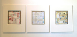 Schwitters travelogue triptych