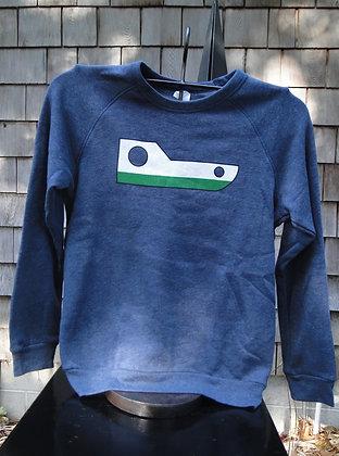Youth Breakwall Basic Crewneck Sweatshirt
