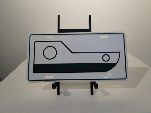 Tug License Plate
