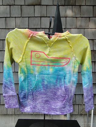 Youth Rainbow Stripe Hoodie