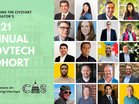 PRESS RELEASE: CIVSTART LAUNCHES 2021 COHORT FOR INNOVATIVE LOCAL GOVERNMENT