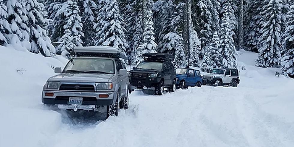 Snowshoeing at Lonesome Lake - 1/26