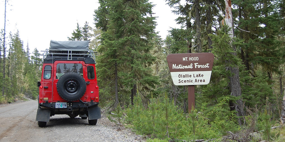 Olallie Lake, Mt. Hood National Forest