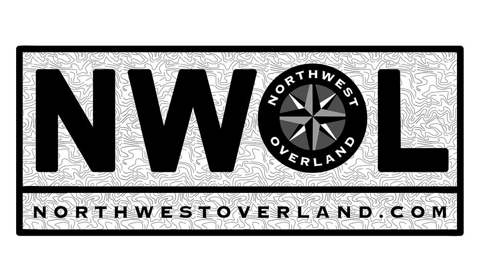 """NWOL 2.5x6"""" Vinyl Sticker"""
