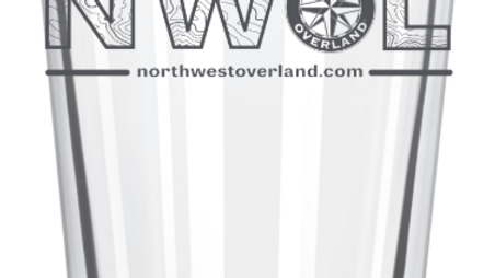 NWOL Pint Glass - NW Overland Rally Special