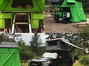 NWOL Overlanding CVT Trailer and Awning