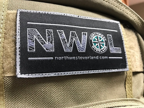 """NWOL 4"""" Morale Velcro Backed Patch"""