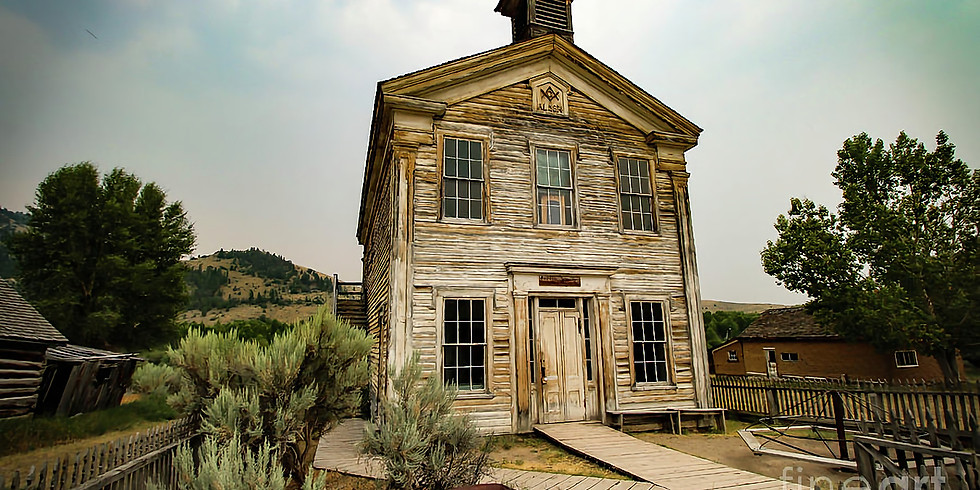 Haunted Ghost Town of Bannack Montana Expedition
