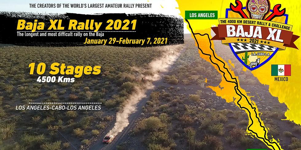 2021 Baja XL Rally - Los Angeles | Cabo | Los Angeles