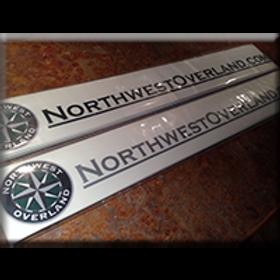 Northwest Overland URL Decal