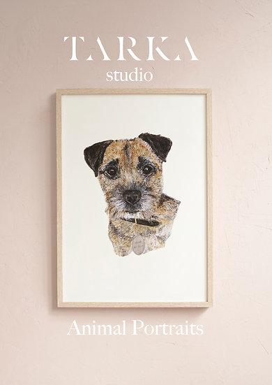 Custom Animal & Pet Portrait Paintings