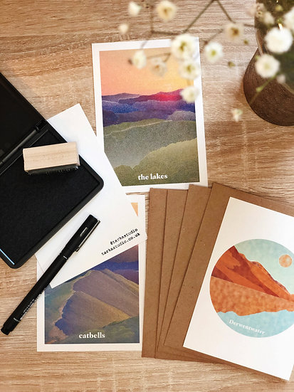 'Lake District' Postcard Pack
