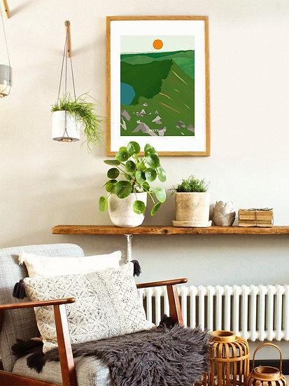 'Helvellyn' Lake District Print