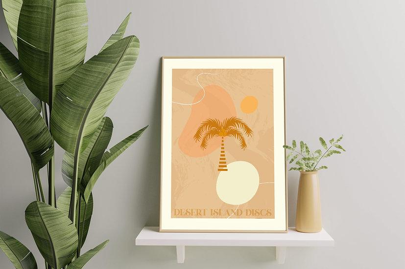 Modern Art 'Desert Island Discs' Print