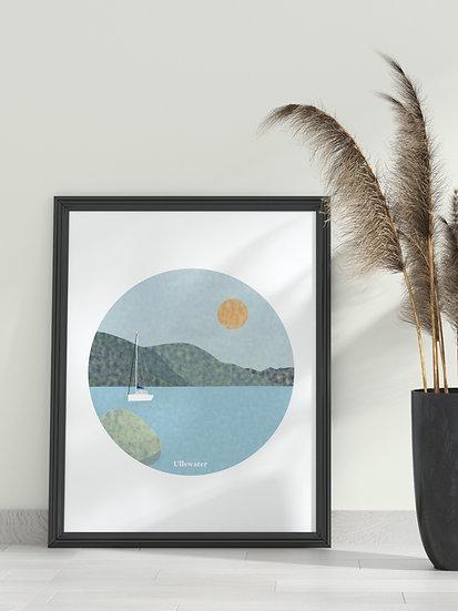 'Ullswater' Lake District Print