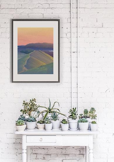 'Catbells' Lake District Print