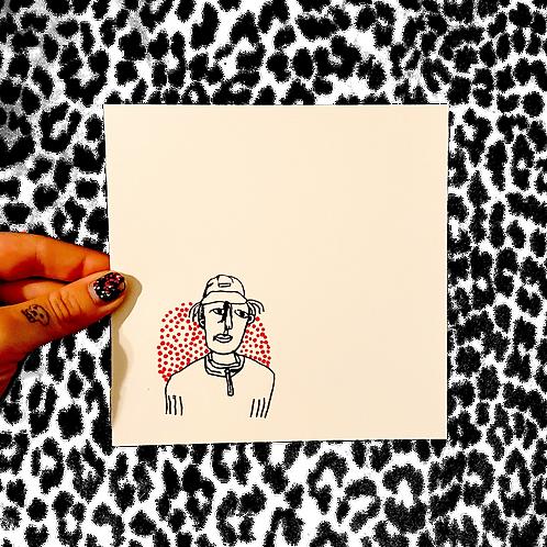 'self portrait' print :)