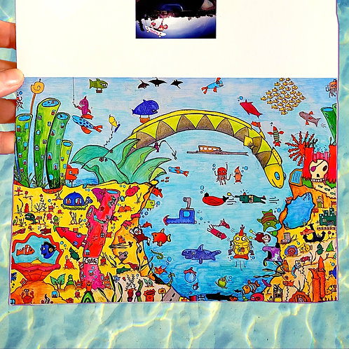 'under the sea'
