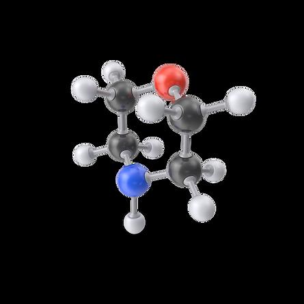 Morpholine Molecule.G03.2k.png