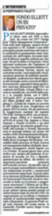 Articolo pubblicato sul quotidiano Il Gi