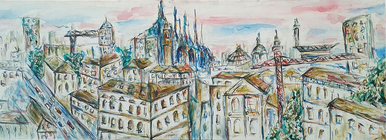 """""""Milano"""" by Luisa Faletti"""