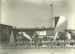 Il padiglione Breda 1953 alla Fiera