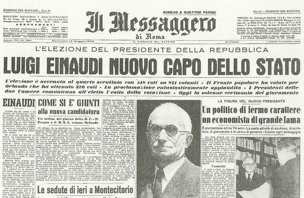 Il Messaggero, 12 Maggio 1948