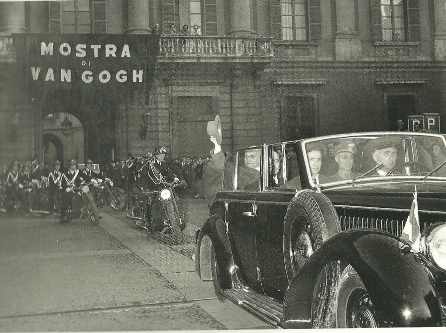 Luigi Einaudi a Palazzo Reale (1952)