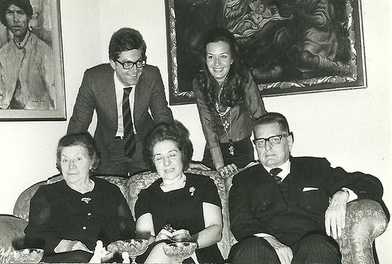 (da sx) Pierfranco, Elena, Maria Faletti, Antonia Sirtori, Noverino Faletti