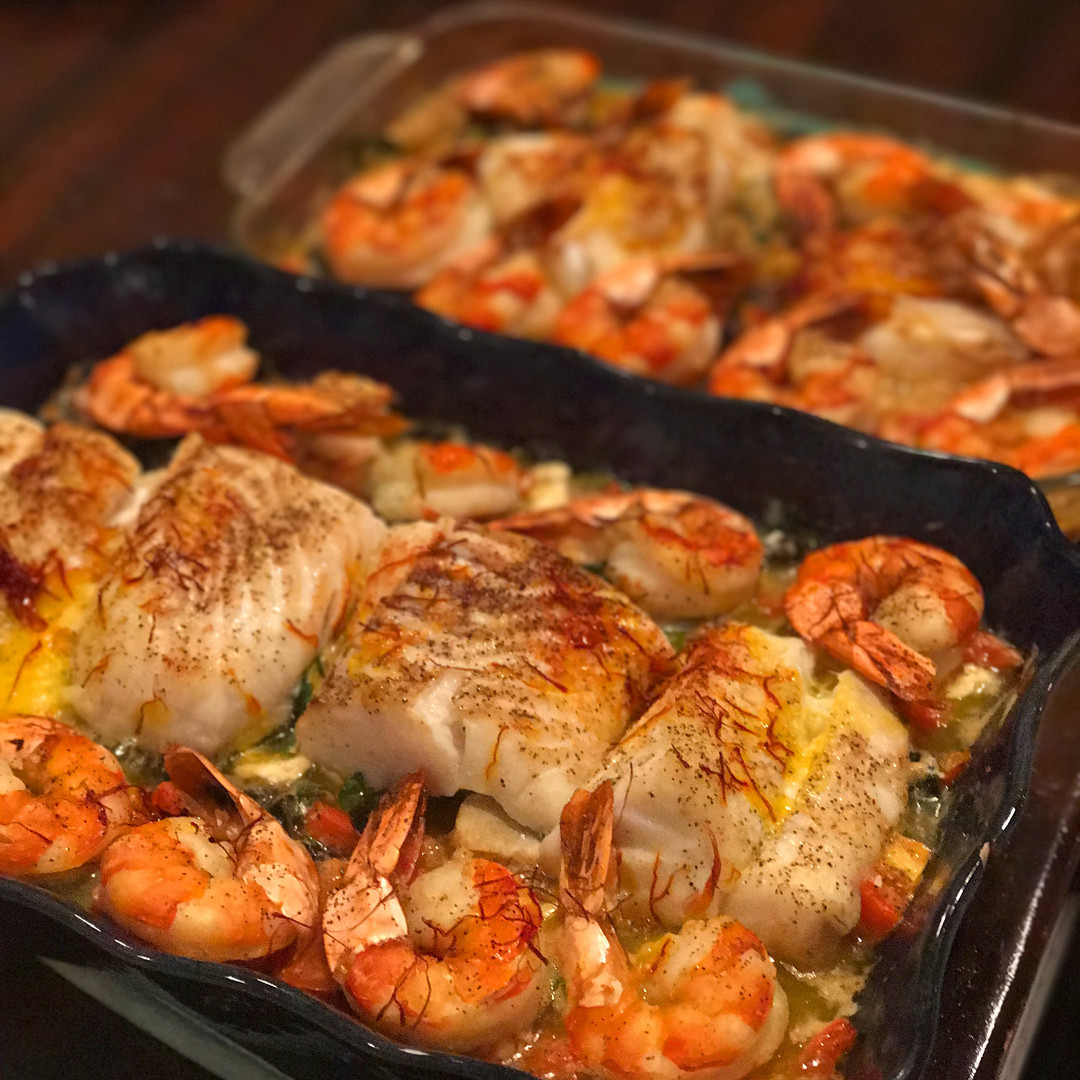 Saffron Seafood Medley