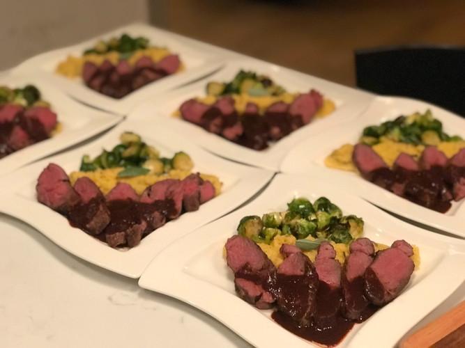 Buffalo with Red Wine Miso Glaze