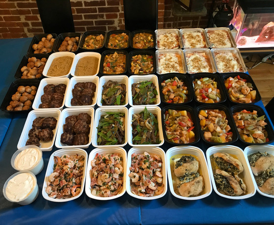 Meal Prep Dishes for the week