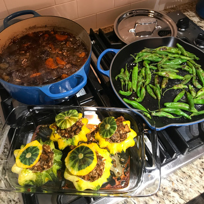 Hearty dishes from a Cooking Lesson