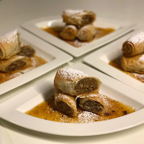 Nut & Date Phyllo Cigars
