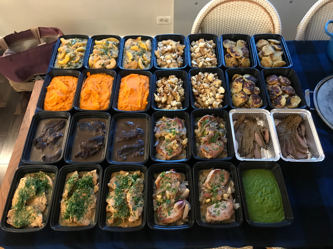 Weekly meals for an autoimmune client