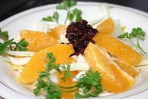 fennel orange currant salad