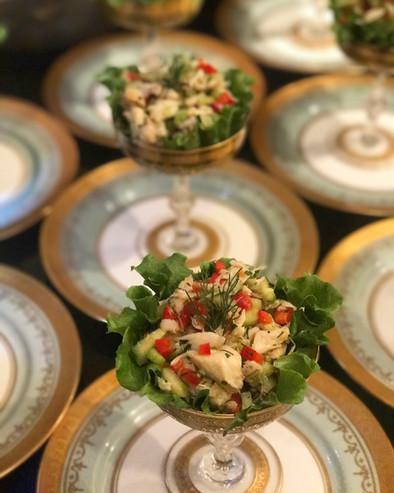 Dilled Crab Salad