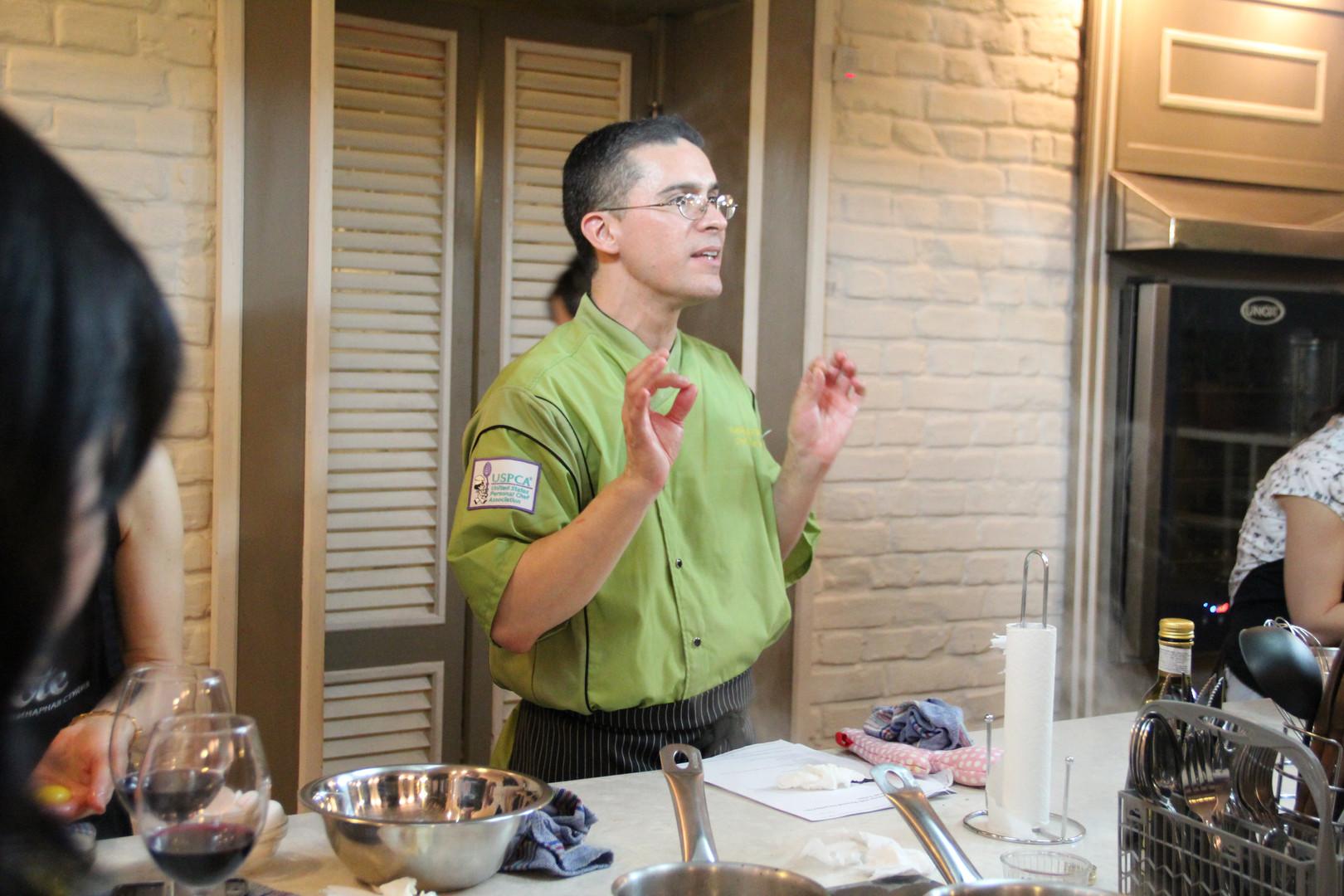 Chef Mark Teaching