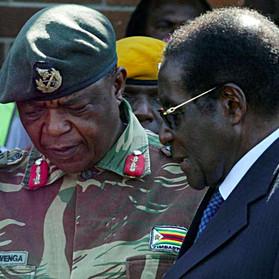 """Robert MUGABE: Le """"Vieux Combattant"""" indésirable?"""