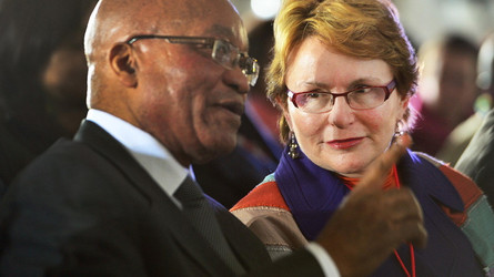 Une femme prend la tête de l'opposition sud-africaine