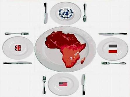 """A chaque puissance son sommet """"Machin-Afrique""""."""